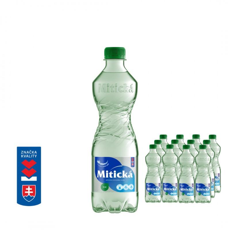Mitická Tichá 0,5L PET 12 fliaš