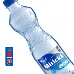 Mitická Perlivá 0,5L PET 12 fliaš